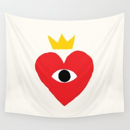 King of my heart Wall Tapestry