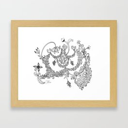 Chintz Framed Art Print