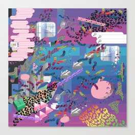 nu reef Canvas Print