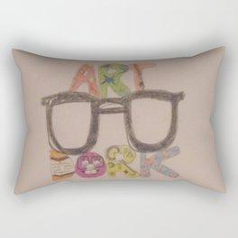 Art Dork. Rectangular Pillow