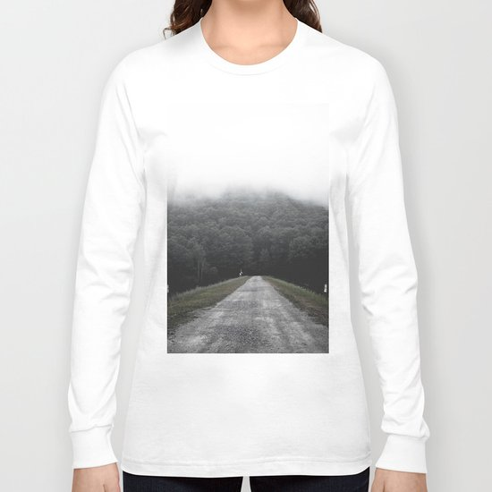 Foggy Road Long Sleeve T-shirt