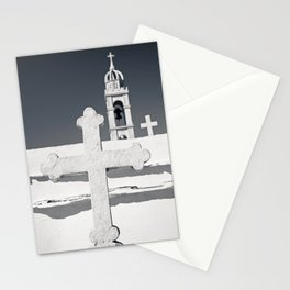 Three Orthodox crosses Stationery Cards