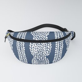Cable Navy Fanny Pack