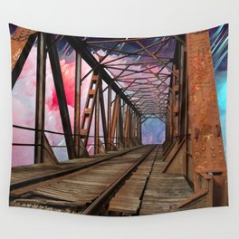 Bridge To Another World Wall Tapestry
