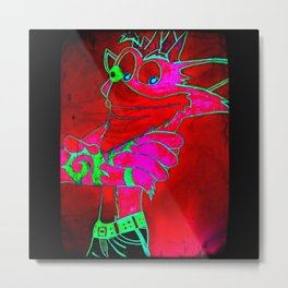 Crash (Gamma) Metal Print
