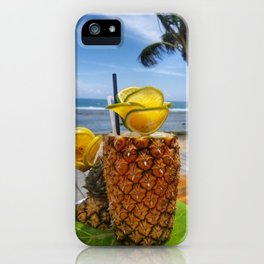 Pineapple Paradise iPhone Case