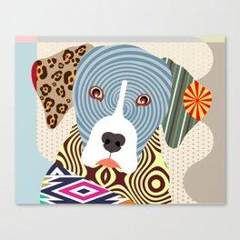 Louisiana Catahoula Leopard Dog Canvas Print