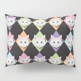 Le Chat Blanc Pillow Sham