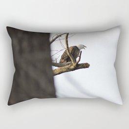 Eagle Hunting for Dinner Rectangular Pillow