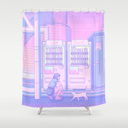 Vending Machines Shower Curtain