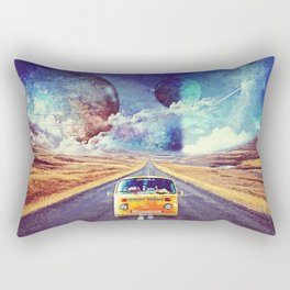 Globe trotter Rectangular Pillow