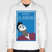 smiths Hoodies featuring What a drag (The Smiths) by Trendy Youth