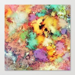 Shape shifting Canvas Print
