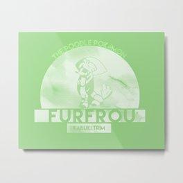 Furfrou -Kabuki Trim- Metal Print