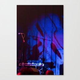 Concert Lighting Canvas Print