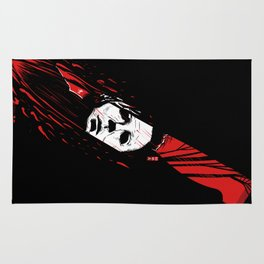 Hell-O-Ween Myers knife Rug