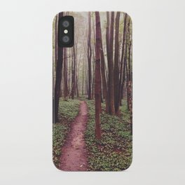 The Future Awaits, The Path Lies Before You iPhone Case