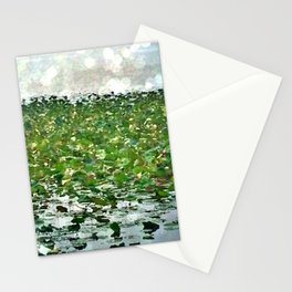 Lily Pads On The River Stationery Cards