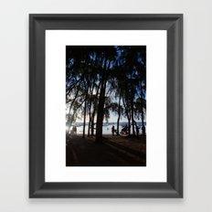 Last Ray of Sun Framed Art Print