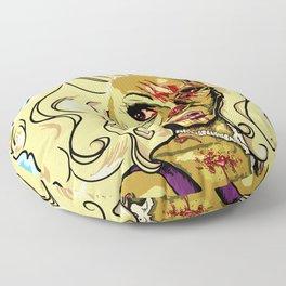 Zombie RuPaul Floor Pillow