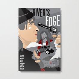 80s TEEN MOVIES :: RIVER'S EDGE Metal Print