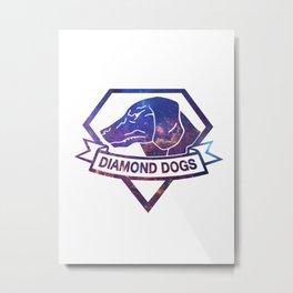 Diamond universe Metal Print