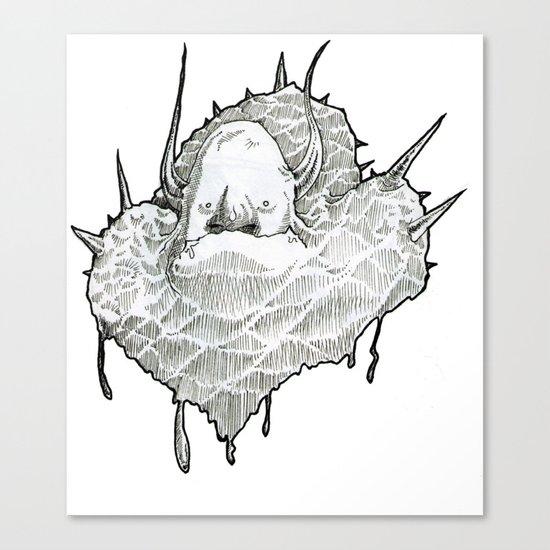 monsterT Canvas Print