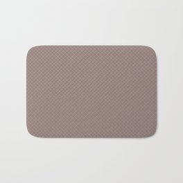 Earthy Green on Grape Vine Purple Parable to 2020 Color of the Year Back to Nature Angled Grid Bath Mat