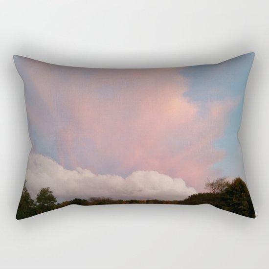 Dance of Two Clouds Rectangular Pillow