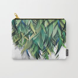 """Spring Forest of Surreal Leaf"" Carry-All Pouch"