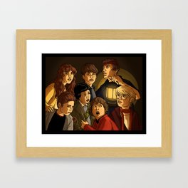 """They call themselves 'the Goonies"""" Framed Art Print"""