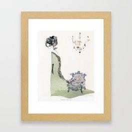 Maud and Minet Framed Art Print