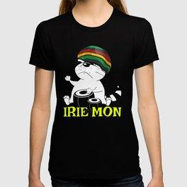 Jamaican Patois Slang Tourists Reggae Lovers Rasta Roots Culture T-shirt