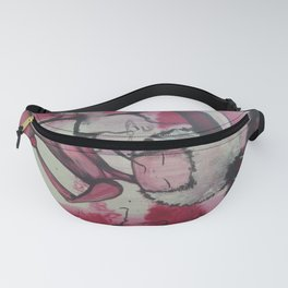 Pink Puff Power Fanny Pack