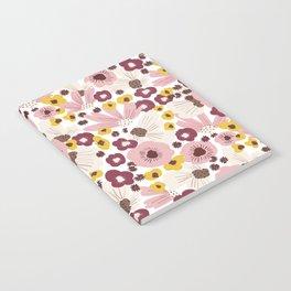 Boho Floral Vibes Notebook