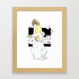 NUDEGRAFIA - 27 Framed Art Print