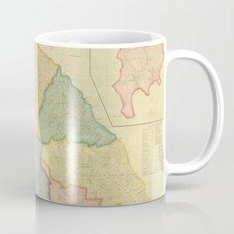 Vintage Map of Saint Kitts (1828) Coffee Mug