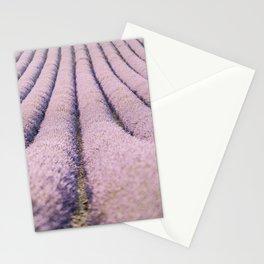 Lavender Fields of Provence, France Stationery Cards