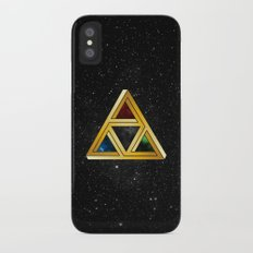The Tri[llusion] Force iPhone X Slim Case