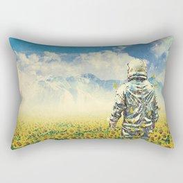 In the field Rectangular Pillow