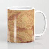 chocolate Mugs featuring Chocolate by Kimberly McGuiness