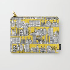 New York yellow Carry-All Pouch
