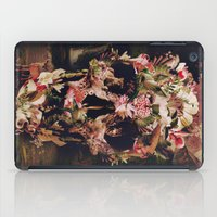 ali iPad Cases featuring Jungle Skull by Ali GULEC