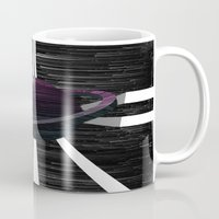 saturn Mugs featuring Saturn by Isaak_Rodriguez