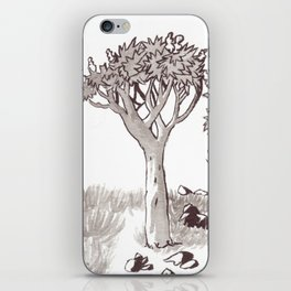 Quiver Tree Forest - Namibia iPhone Skin