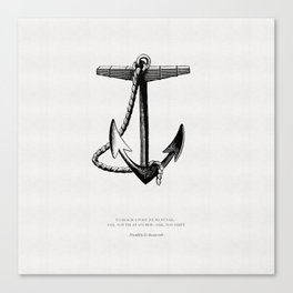 The Anchor Canvas Print
