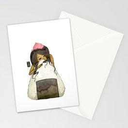 Onigiri Girl Stationery Cards