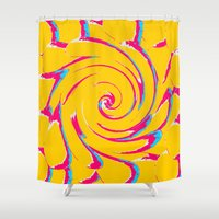 artsy Shower Curtains featuring artsy by myepicass