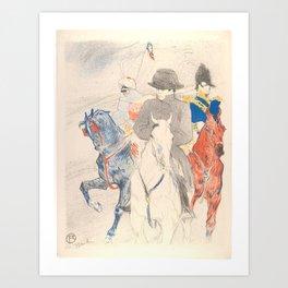 """Henri de Toulouse-Lautrec """"Napoleon"""" Art Print"""