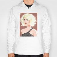 blondie Hoodies featuring Blondie by drawgood